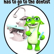 New book – Monster Ruzz has to go to the dentist