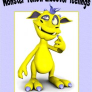 New book – Monster Yellow discover feelings