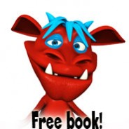 Free today – Monster Red looks at opposites!