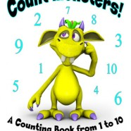 New book – Count monsters! A Counting Book from 1 to 10